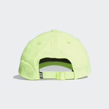 โยคะ สีเขียว หมวกแก๊ปปีกโค้ง AEROREADY Badge of Sport