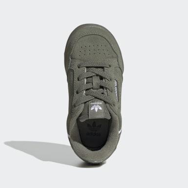 Kids Originals Green Continental 80 Shoes