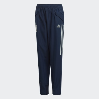 Youth 8-16 Years Football Blue Spain Presentation Tracksuit Bottoms