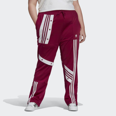 Track pants Daniëlle Cathari (Taglie forti) Bordeaux Donna Originals