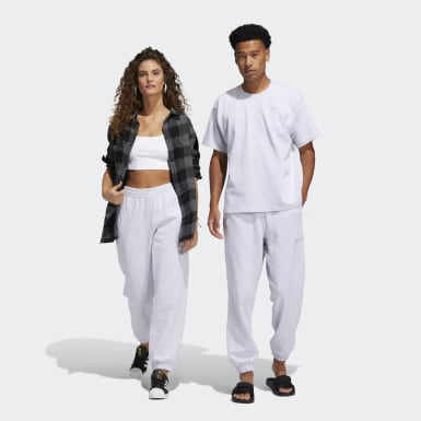 Originals Grey Pharrell Williams Basics Sweat Pants (Gender Neutral)