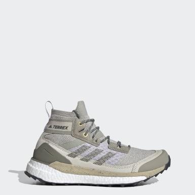 Sapatos de Caminhada Free Hiker TERREX Cinzento Mulher TERREX
