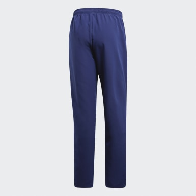 Men Football Blue Core 18 Presentation Tracksuit Bottoms