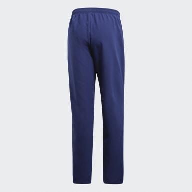 Pantaloni da rappresentanza Core 18 Blu Uomo Calcio