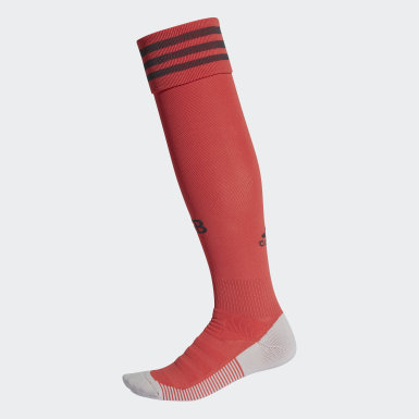 Men Football Red Germany Goalkeeper Socks