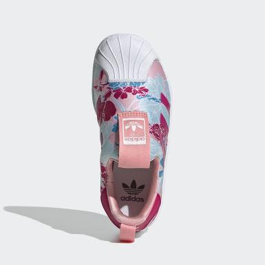 Çocuklar Originals Pink Superstar 360 Ayakkabı