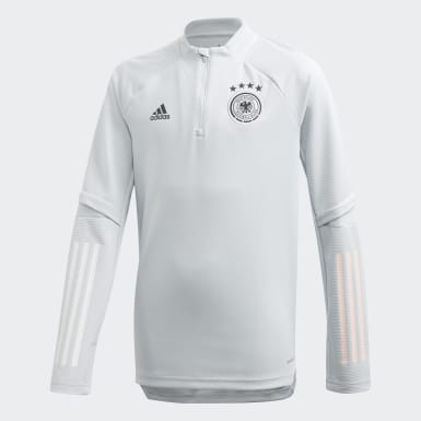 Camisola de Treino da Alemanha Cinzento Criança Futebol