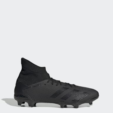 Chaussure Predator 20.3 Terrain souple Noir Football