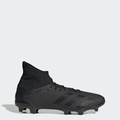 Football Black Predator 20.3 Firm Ground Boots