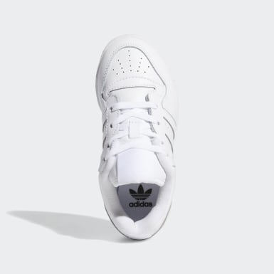 Children Originals White Rivalry Low Shoes