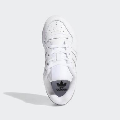 Children Originals White Rivalry Low Shoes