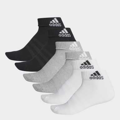 Training Grey Cushioned Ankle Socks 6 Pairs