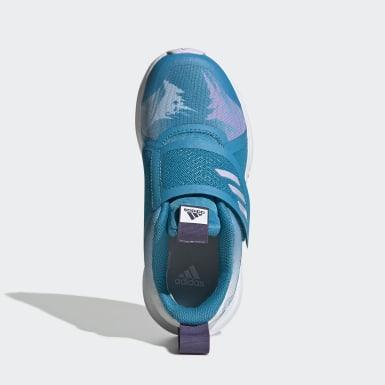 Chaussure FortaRun x Frozen Turquoise Enfants Running