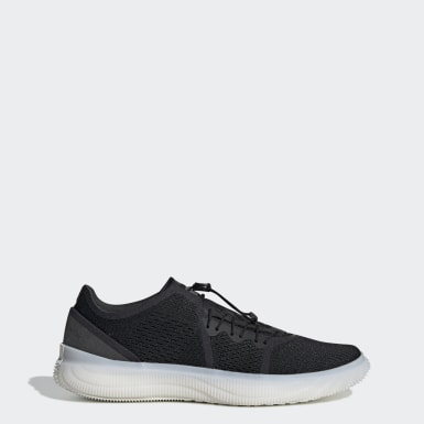 Women's adidas by Stella McCartney Black Pureboost Trainer Shoes