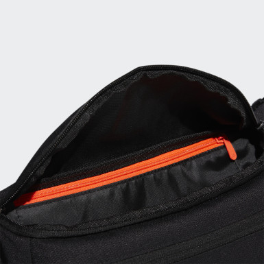 Men Cycling Black Urban Waist Bag