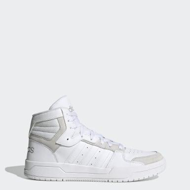 Men's Essentials White Entrap Mid Shoes
