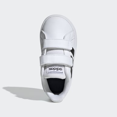 Infant Sport Inspired White Grand Court Shoes