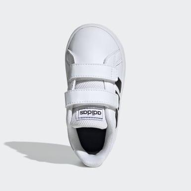 Zapatillas Grand Court Blanco Niño Essentials