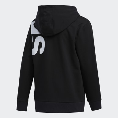 Youth Training Black French Terry Hoodie