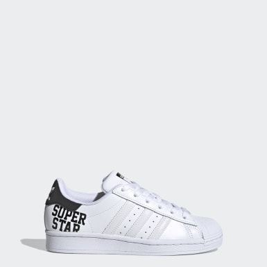 Zapatilla Superstar Blanco Niño Originals