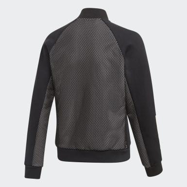 Girls Training Black ID Sweatshirt
