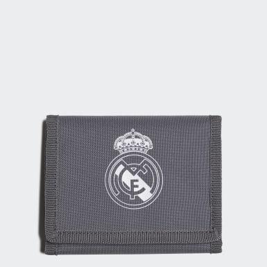 Fußball Real Madrid Geldbeutel Grau