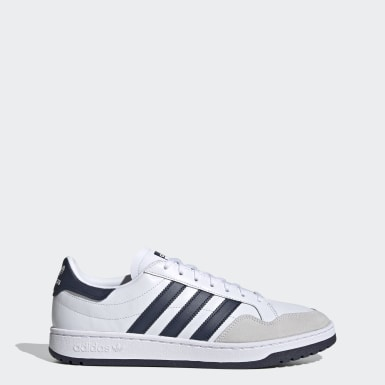 Men Originals White Team Court Shoes