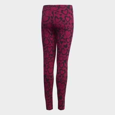 Leggings Must Haves Roxo Raparigas Treino