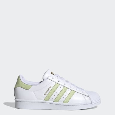 Women Originals White Superstar Shoes