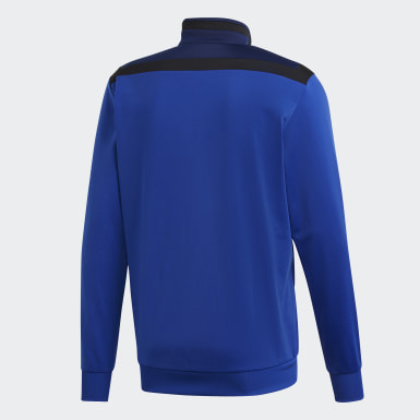 Heren Training blauw Tiro 19 Polyester Jack