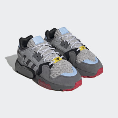Kids Originals Grey Ninja ZX Torsion Shoes