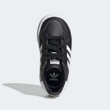 Chaussure Team Court Noir Enfants Originals