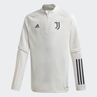 Kinder Fußball Juventus Turin Trainingsoberteil Grau