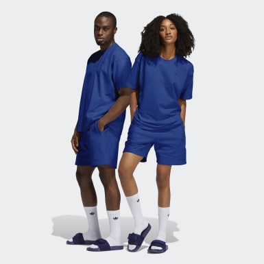 Originals modrá Šortky Pharrell Williams Basics (unisex)