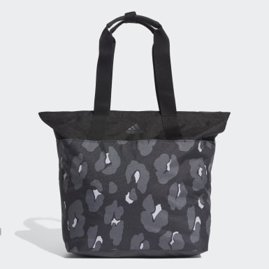 Women Yoga Grey ID Tote Bag