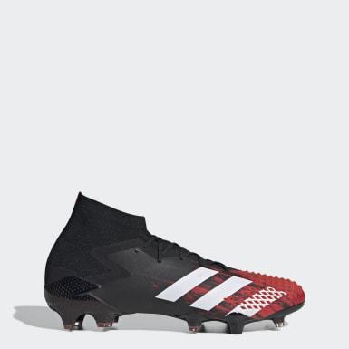 Kvinder Fodbold Sort Predator Mutator 20.1 Firm Ground støvler