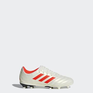 Børn Fodbold Beige Copa 19.3 Firm Ground støvler