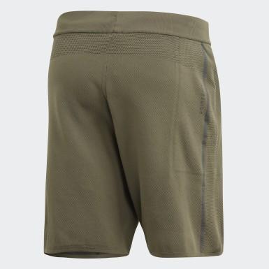 Shorts 4KRFT 360 Primeknit LUX 8-Inch Verde Hombre Training