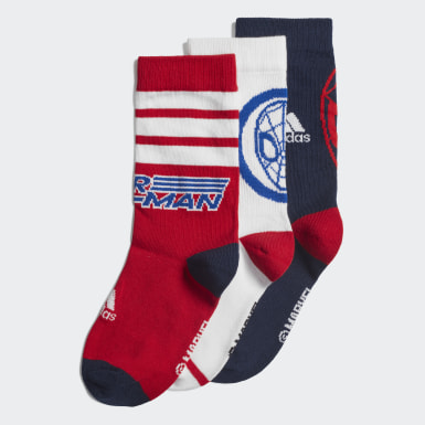 белый Три пары носков Marvel Spider-Man