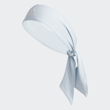 Training Blue Alphaskin Tie Headband