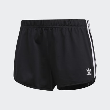 Kvinder Originals Sort 3-Stripes shorts
