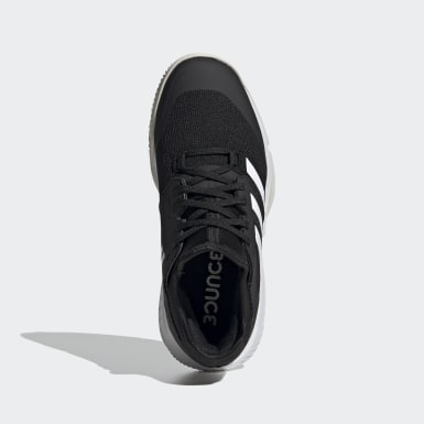 Women Netball Black Court Team Bounce Indoor Shoes