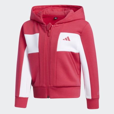 Meisjes Training Roze Fleece Jack