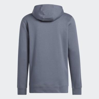 Sweat-shirt à capuche Fleece noir Hommes Athletics