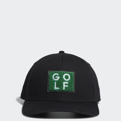 Men Golf Black Golf Turf Hat