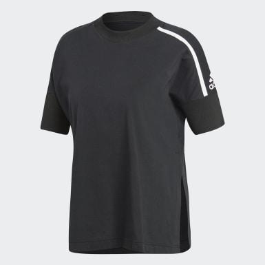Kadın Athletics Siyah adidas Z.N.E. Tişört