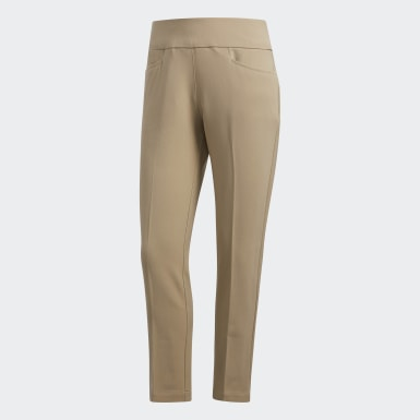 Women's Golf Brown Ultimate365 Adistar Cropped Pants