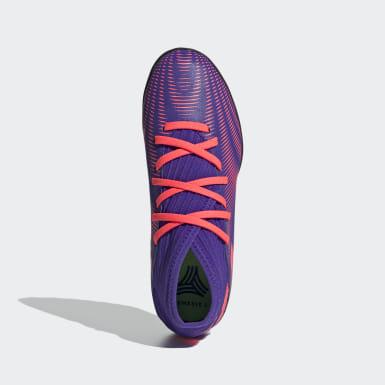 Chaussure Nemeziz .3 Turf Violet Enfants Football
