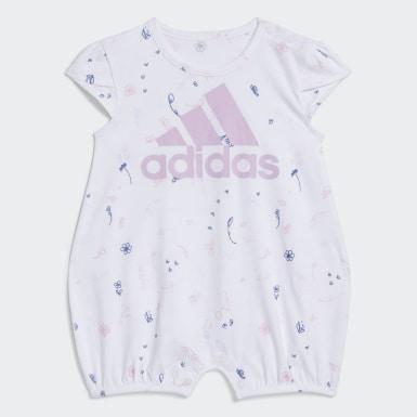 Combishort Shorti Print blanc Bambins & Bebes Entraînement