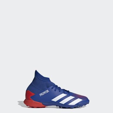 Zapatillas de fútbol Predator 20.3 moqueta Azul Niño Fútbol